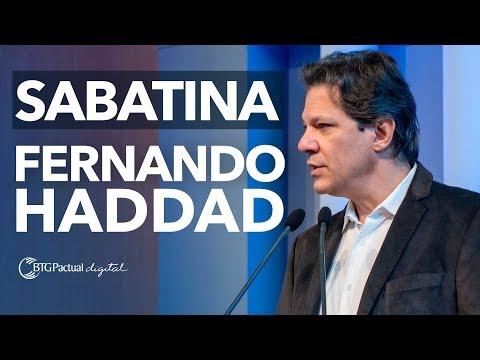 Fernando Haddad - Entrevista com Presidenciáveis 2018