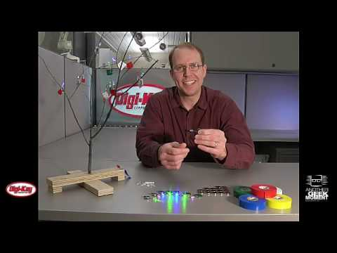 Battery Operated Holiday LED Lights - Engineered by Digi-Key