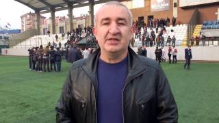 Feriköyspor Başkanı Oktay Ertuğrul Maç sonu röportajı