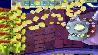 PLANTS VS ZOMBIES 100% KERNEL PULT VS DR. ZOMBOSS`S