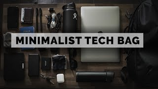 What's in My Bag? | 2018 MINIMALIST TECH BAG