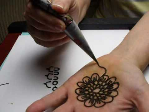 How To Make Your Own Henna Tattoo Designs