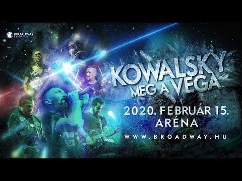 KOWALSKY MEG A VEGA - 360° livestream - 2020. 02. 15. Aréna