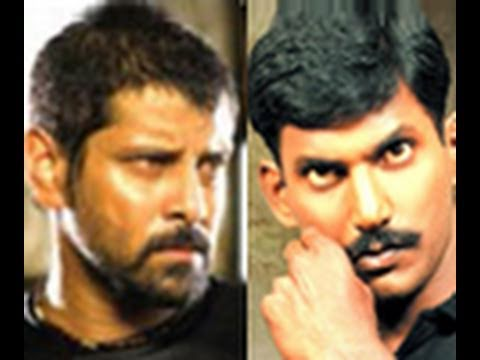 Fight between Vikram and Vishal