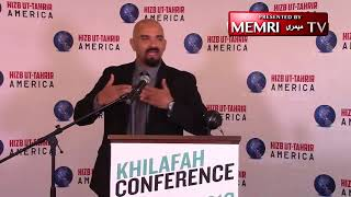 "Haitham Ibn Thbait of U.S. chapter of Hizb-ut-Tahrir Warns Muslims of ""Perils"" of Western Democracy"