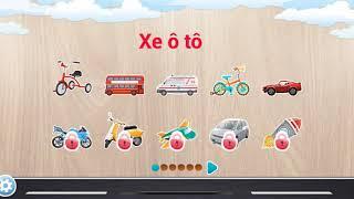 Tập 3 (Xe ô tô) Ghép hình dành cho trẻ em