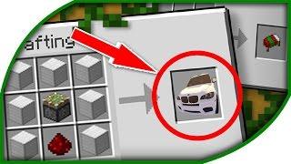 ♕ Minecraft: Çalışan ARABA Yapımı (Modsuz)