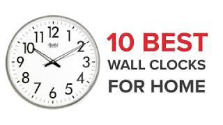 10 Best Wall Clocks in India with Price