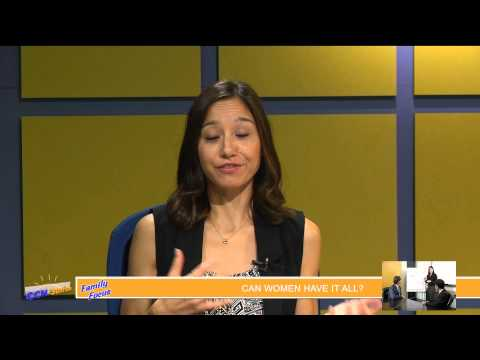 #008 08 08 14 Dr  Michelle Mayertalks asks if women can have it all in her Family to Family segment