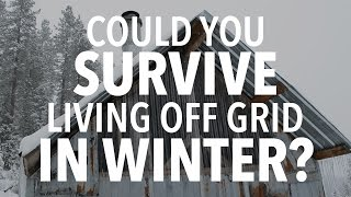 Could You Survive ONE DAY Living Off Grid in WINTER?