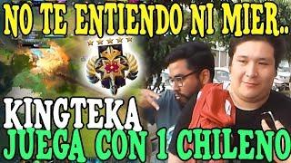 KINGTEKA SE ENCUENTRA CON UN CHILENO LEYENDA Y NO LO ENTIENDE