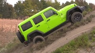 Jeep Wrangler Unlimited - Offroad test
