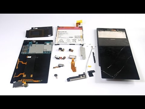 Sony Xperia Z Ultra Teardown