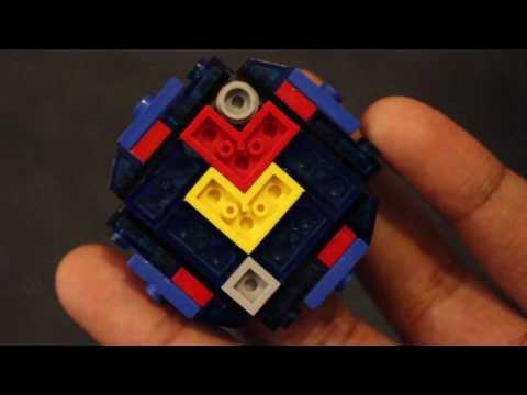 Cho Z Valkyrie!   How to Build   LEGO Beyblade Reviews