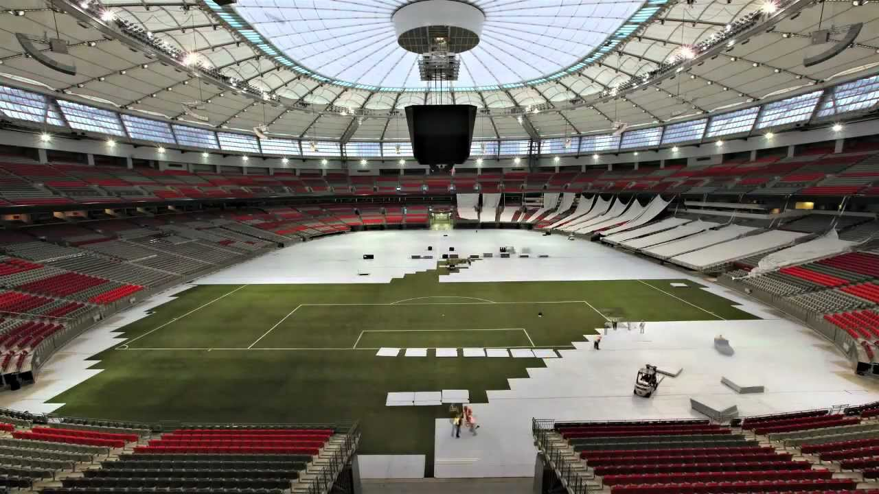 Welcome To The New Multipurpose Bc Place Youtube