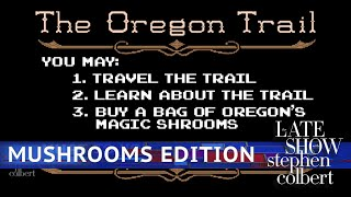 The Oregon Trail On Mushrooms