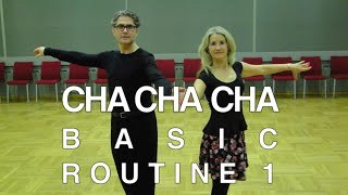 How to Dance Cha - Basic Routine 1