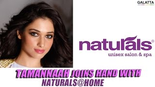Tamannaah Joins Hand With Naturals@Home