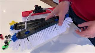 Gardiner Jet Capsules for Window Cleaning Brushes