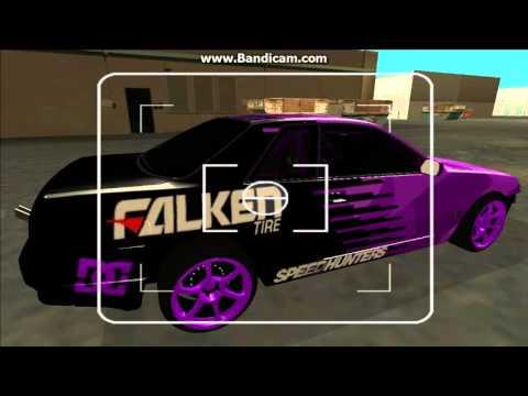 Nissan Skyline R32 Drift Falken