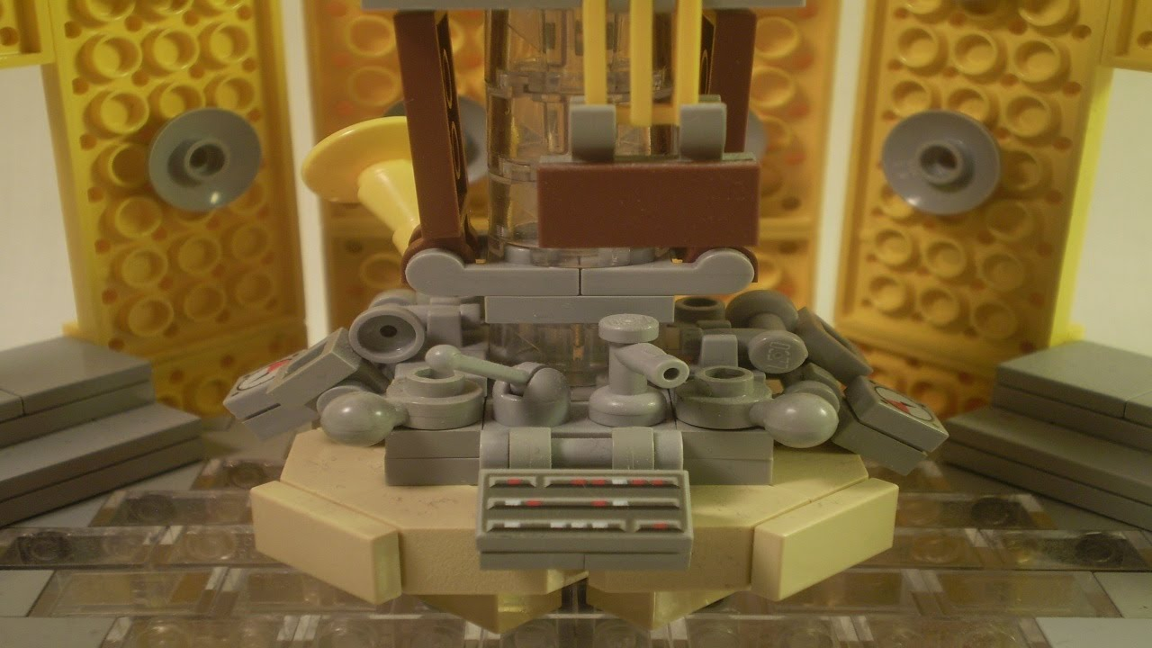 lego doctor who the 11th doctors tardis interior youtube