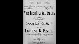 John Mccormack When Irish Eyes Are Smiling 1916