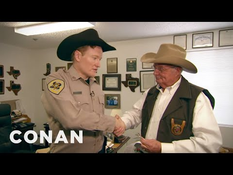 Conan Becomes A Texas Deputy, Part 1 video