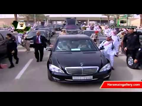 Saudi King Abdullah Return to Kingdom 2011