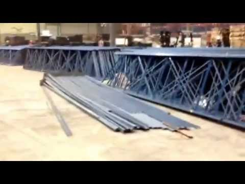 USED DRIVE IN PALLET RACK: High Density Racking System