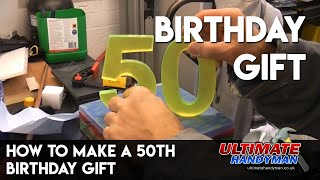 How to make a Perspex birthday gift