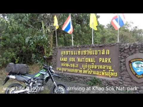 Thailand Koh Samui to Khao Lak visiting Khao Sok National Park on Kawasaki motorbikes 3