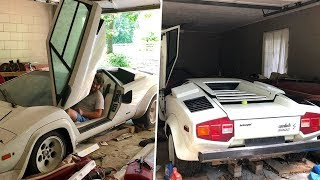 A Woman Looked Inside Her Grandma's Old Garage - And Discovered An Incredible Supercar Surprise