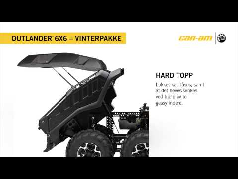 Outlander 6X6 1000 XT Vinterpakke Norway
