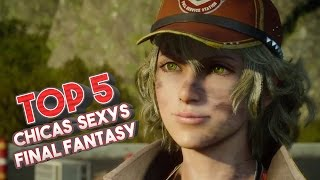 Top 5: Las chicas mas sexys de Final Fantasy