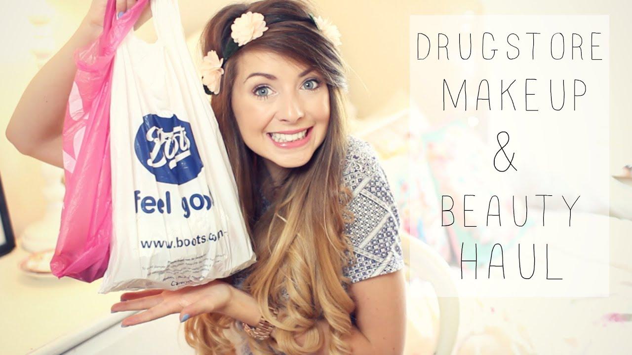 Drugstore Makeup & Beauty Haul | Zoella - YouTube