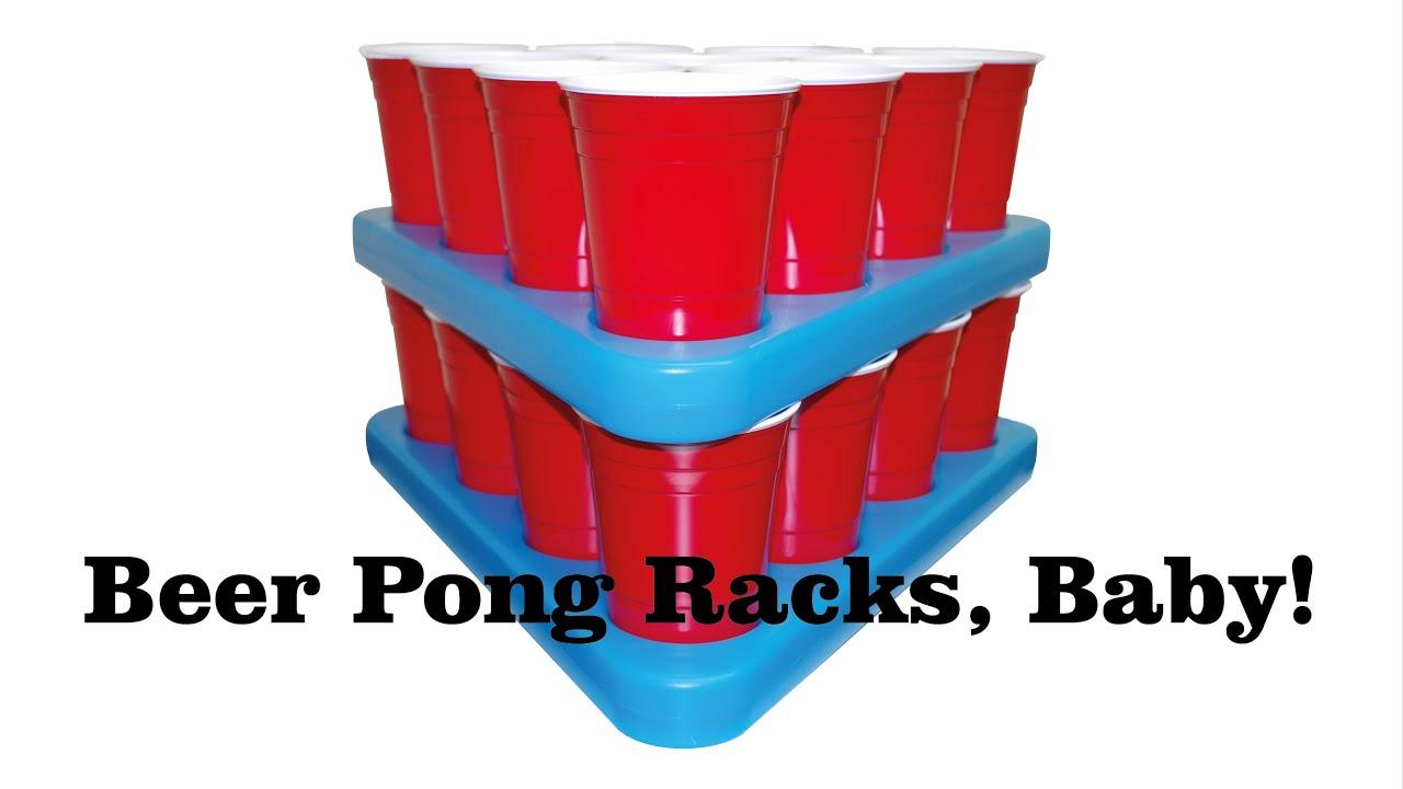 Becher Beer Pong Beer Pong Rack Set Das