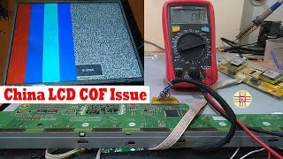 China LCD/LED TV Repair. Fault finding and Source PCB Detail in Small LCD/LED Panels in Urdu/Hindi