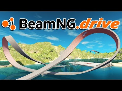 BeamNG.drive Gameplay - Double Loops! - Let's Play BeamNG.drive