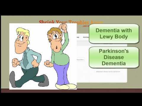 Shrink's Major Types of Dementias