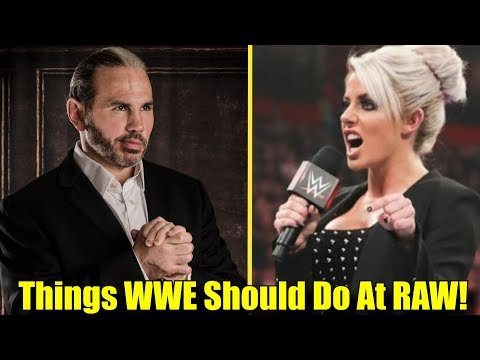 5 Things WWE MUST DO ON RAW Before TLC! (2018) thumbnail