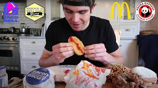 THE GREAT LOS ANGELES CHEAT DAY I 20K SUB SPECIAL I 20,000 CALORIES Donuts, Burgers, Pizza, Sushi