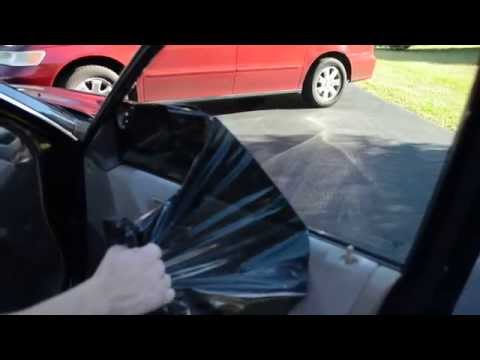 How to easily and cheaply remove window tint
