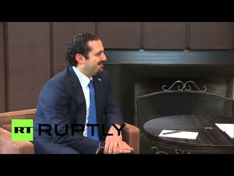 Russia: Putin meets former Lebanese PM Saad Hariri in Sochi
