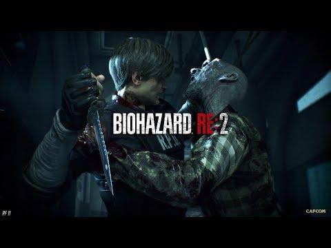RESIDENT EVIL 2: Remake. Сценарий Leon B. Другая концовка (без комментариев) [2K 1440p]