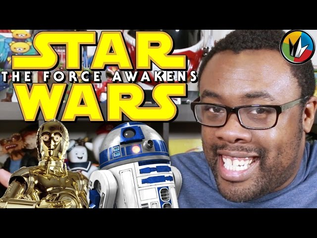 STAR WARS VII: The Force Awakens - Catching Up with Andre