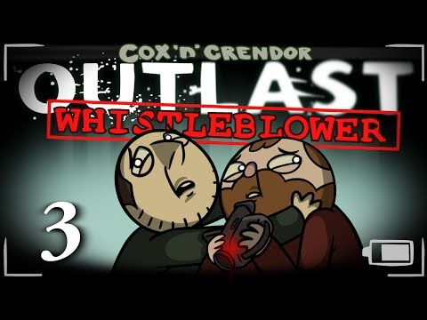 Outlast: Whistleblower [Part 3] - Super Dick Bros!