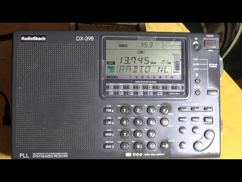 Radio Thailand 13745 Khz  on Radio Shack DX 398