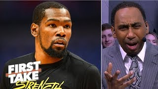'I am officially concerned about the Warriors' - Stephen A. | First Take