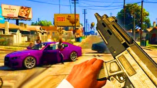 "GTA 5 Gameplay Trailer ""FIRST PERSON!"" - (Grand Theft Auto V PS4 Xbox One)"