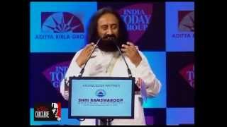 Wisdom is beyond time, says Sri Sri Ravi Shankar at  India Today Conclave 2013